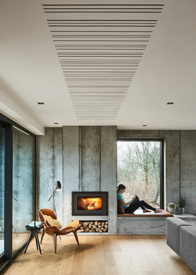 Modern Living Room by fermacell