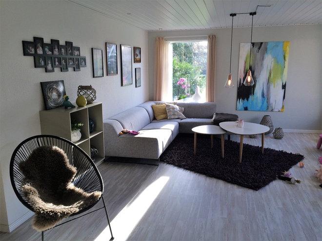 Moderne Dagligstue by Indretningsarkitekt Niels Rejnhold