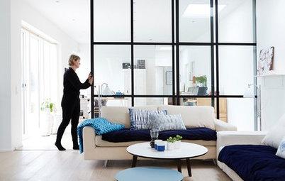 Lös problemet – så inreder du långsmala vardagsrum