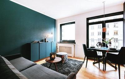 7 Farb-Tricks, die kleine Räume größer schummeln