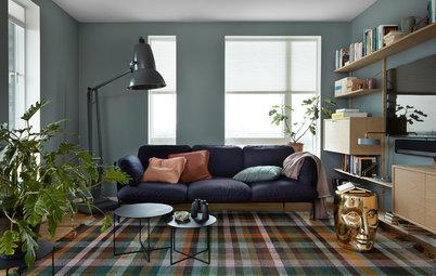 Просто фото: 16 цветовых схем с «датским голубым»