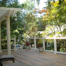 Traditional Deck by American Deck and Patio