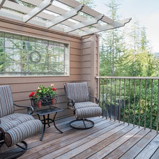 Traditional Deck by Michele Boudreau, Sereno Group Real Estate