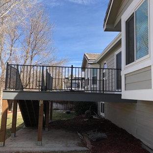 Cottage deck photo in Denver