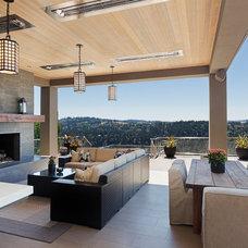 Contemporary Deck by Stoneridge Custom Development