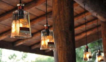 1800 Bottle Light Pendants