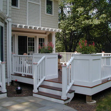 Traditional Deck by Passacantando Architects AIA