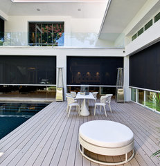 contemporary patio by Phil Kean Designs