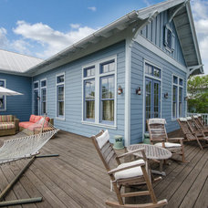 Tropical Deck by Emerald Coast Real Estate Photography