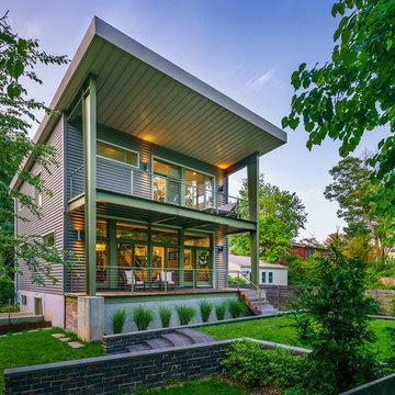 30x30 Steel House