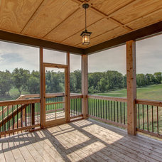 Traditional Deck by R. Fleming Construction