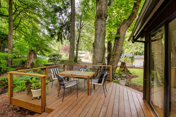 Traditional Deck by FJU Photography