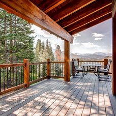 Traditional Porch by Pinnacle Mountain Homes