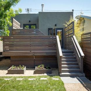 Foto de terraza actual en patio trasero