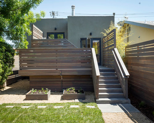 Modern deck design ideas remodels photos - Decke modern ...