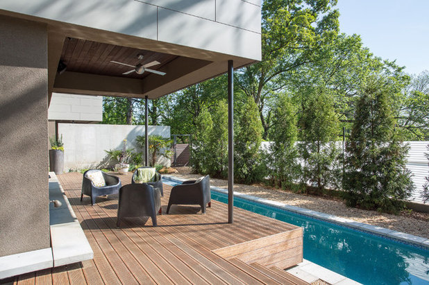 Contemporary Terrace by TaC studios, architects