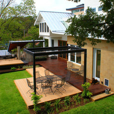 Contemporary Deck by Powell Landscape Architecture