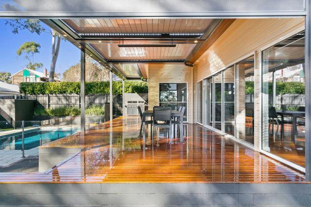 Modern Deck by Refresh Renovations