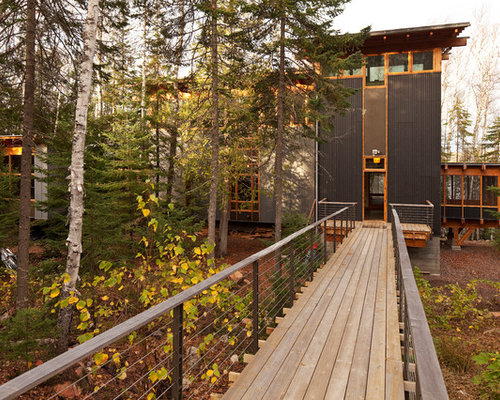 Modern forest house photos
