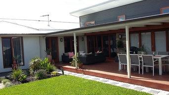 Alfresco Living: Deck Verandah & Garden