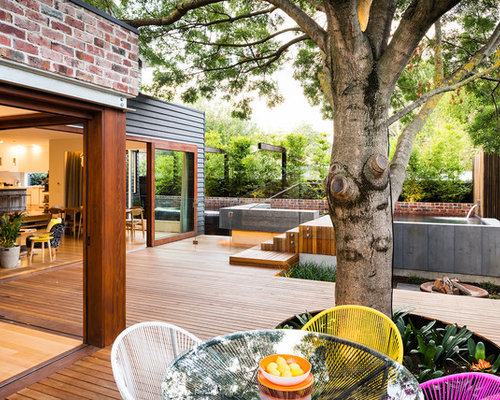 Wood Deck Designs Photos Design Ideas & Remodel Pictures | Houzz