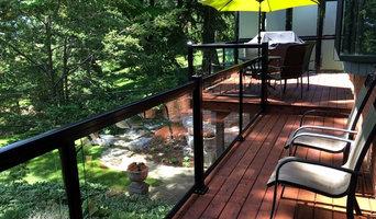 Aluminum and Glass Deck Railings - 101