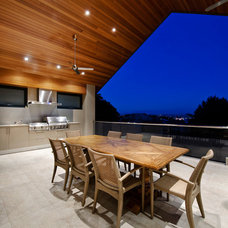 Modern Patio by Cambuild