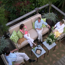 Eclectic Deck by Bruce Clodfelter and Associates