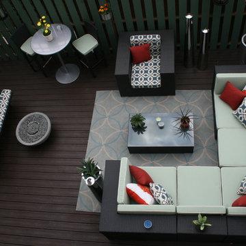 An Indoor & Outdoor Oasis