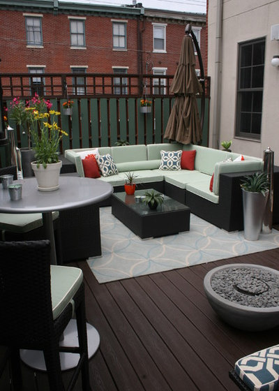 Transitional Deck by Busybee Design