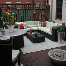 eclectic deck by Busybee Design