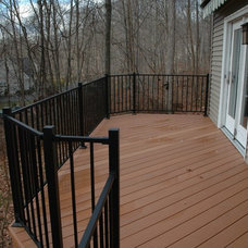 Traditional Deck by Archadeck of Central Connecticut