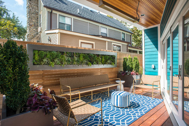 Contemporary Deck by Lotus Gardenscapes & Bloom Garden Center