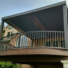Large Installations Of Adjustable Patio Covers. 14 Photos. All Photos