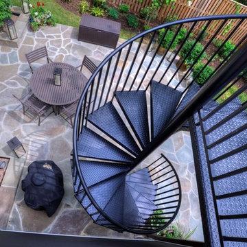 Arlington Deck with Screen Porch & Spiral Staircase