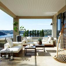 Contemporary Deck by Sarah Davison Interior Design