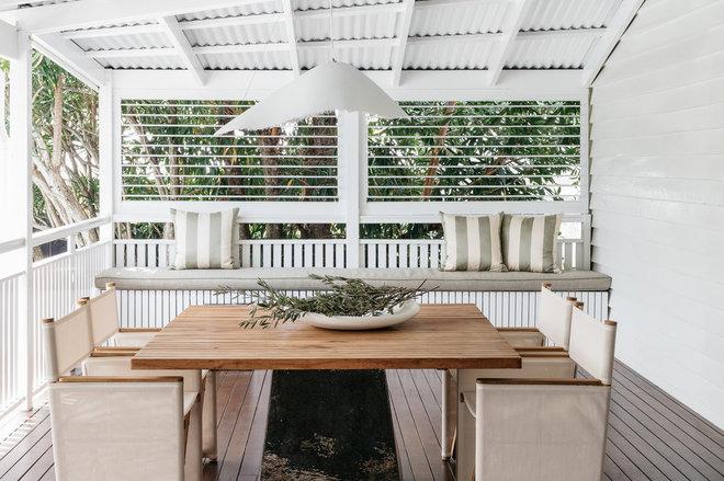 Beach Style Deck by AP Design House