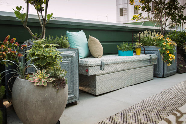Eclectic Deck by Margot Hartford Photography
