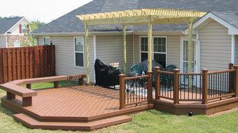 Augusta, GA, Custom Decks For Outdoor Living