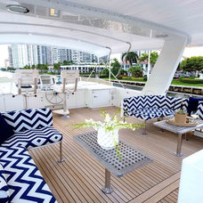 Beach Style Deck by Fein Zalkin Interiors