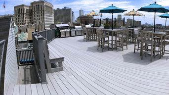 Award Winning Rooftop Deck SoundTrack Boston
