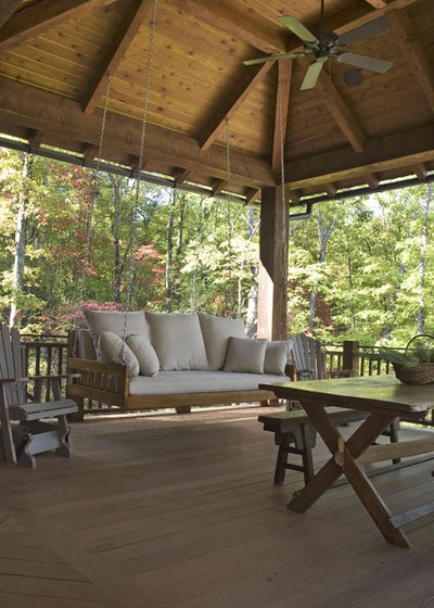 Rustic Deck by Wright Design