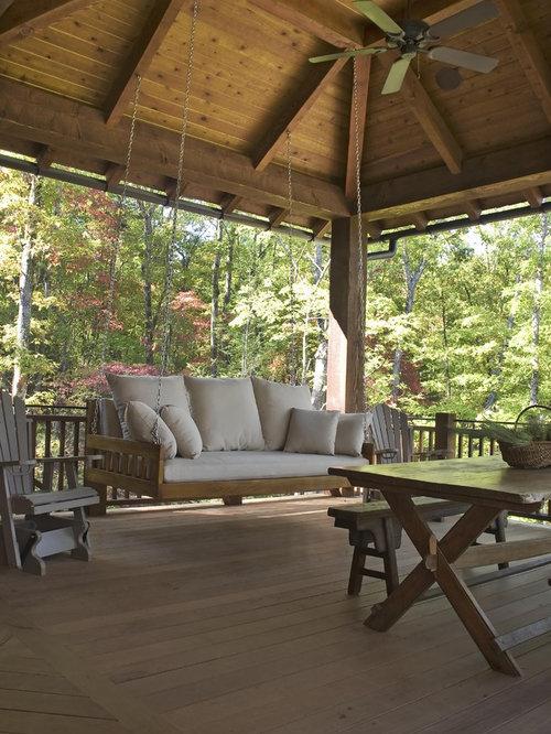 Porch Design Ideas, Remodels & Photos on Large Back Porch Ideas id=55284