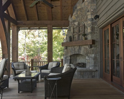SaveEmail - Outdoor Fireplace Corner Ideas, Pictures, Remodel And Decor