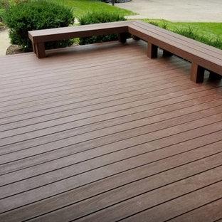 AZEK Caribbean Redwood Deck