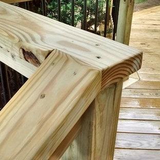 Backyard Wood Deck in Media, PA