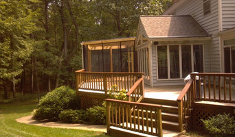 Baker Deck with Screened in Porch