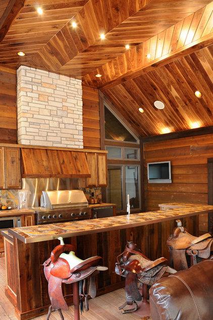 Traditional Porch by JG Development, Inc.