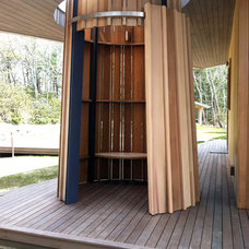 Contemporary Deck by Real Sliding Hardware