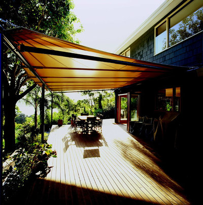 Contemporary Terrace & Balcony by Outrigger Awnings and Sails, Sydney